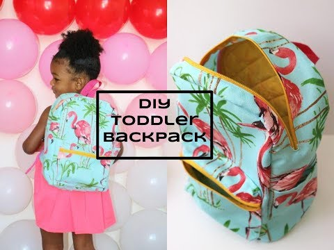 DIY [Beginner Sewing] Toddler Backpack