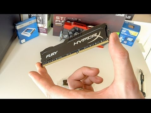 Kingston HyperX Fury 1866MHz Kit 2x8GB Overview