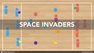 Space Invaders | Physical Education Game (Fundamental Movement Skills)