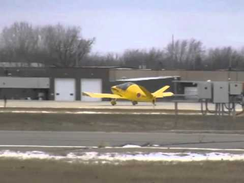 E-Flight Electric Powered Waiex N270DC First Flight!