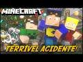 Minecraft: MINI-GUERRA - TERRÍVEL ACIDENTE! (Pandora Box Mod)
