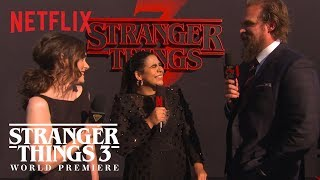 Stranger Things Cast Describe the New Season | Stranger Things 3 Premiere | Netflix