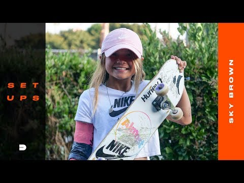 Setups: 11-Year-Old Sky Brown Breaks Down Her Choice Of Skateboard Gear