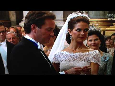 Royal Wedding of Sweden's Princess Madeleine - 2013