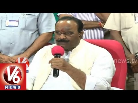 T Home Minister Nayini Narasimha Reddy press meet on Beas river tragedy in Himachal Pradesh