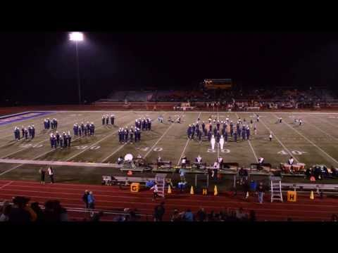 """Five"" Grand Haven High School Buccaneer Marching Band 10/4/13"
