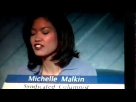 Michelle Malkin Chokes On Pbs Newshour video