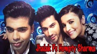 Alia Bhatt & Varun Dhawan On The Set Of Jhalak Dikhla Jaa Season - 7