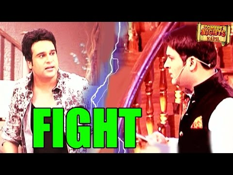 Comedy Nights with Kapil : OMG! MAJOR FIGHT between Kapil Sharma and Krushna Abhishek | MUST WATCH