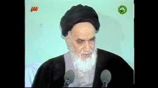 اسلام دین تروریسم است سخنرانی خمینی در سال روز محمد
