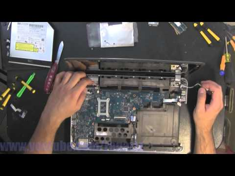 HP PAVILION DM4 take apart video. disassemble. how to open disassembly
