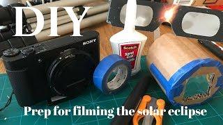 Solar Eclipse Filter for Camera | DIY