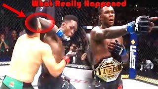 What Really Happened at UFC 236 (Kelvin Gastelum vs Israel Adesanya)