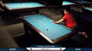 #2 - Justin YAU vs Jose TORRES / Jerry's 8-Ball Tournament / April 2019