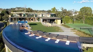 BEL AIR | MODERN UTOPIA w/250 FT. INFINITY POOL | $48,000,000