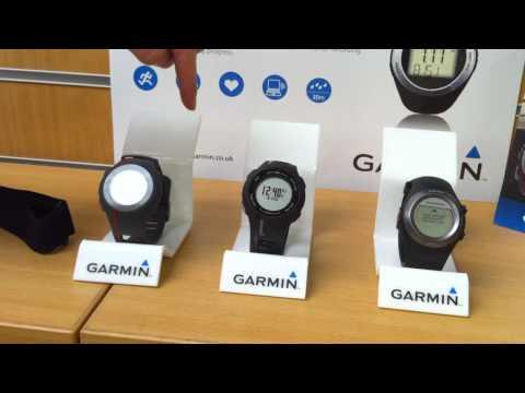 Garmin Forerunner Range Comparison & Review (featuring...Forerunner 110. 210 & 410 GPS Watches)