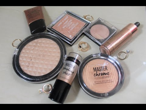 My Favourite Highlighters for Tan/Indian Skin | Aparna Harikumar