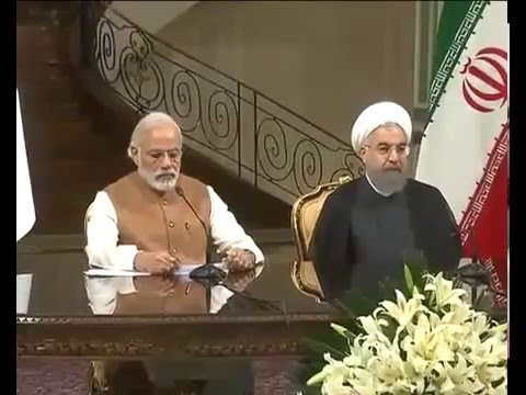 PM Modi's address at the Joint Press Statement between India   Iran in Tehran