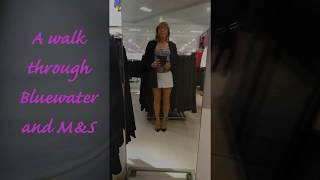 A trip to Bluewater and M&S (TV/CD)