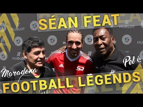 SÉAN feat MARADONA & PELÉ  #FootballLegends + GIVEAWAY