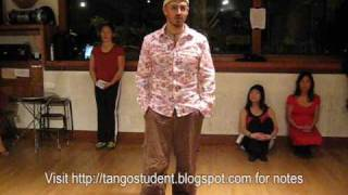 Tango Lesson: Low versus High Leg Wraps