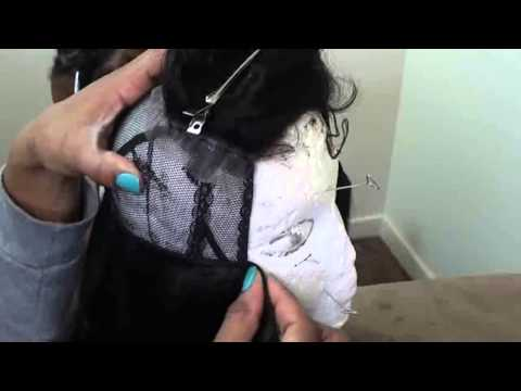 Full Wig w/ Lace Closure  EASY Tutorial!!