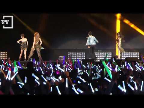 [경향신문]싸이(Psy) 콘서트 출격한 투애니원(2NE1)