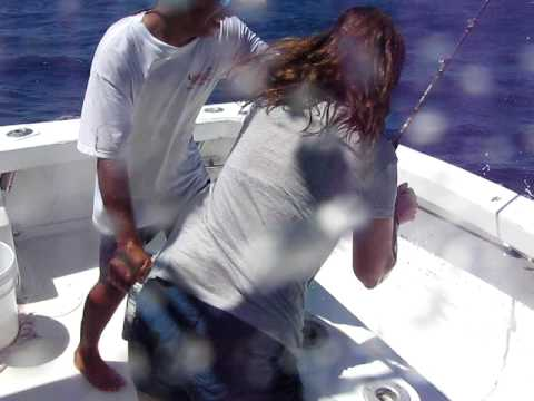 170 Pound Sailfish - Fishing in Mexico