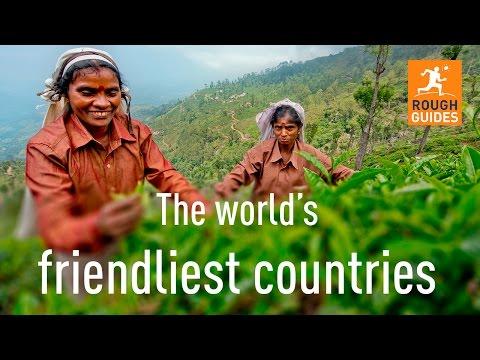 The world's friendliest nations