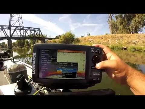 lowrance elite 7 chirp on the water review - screen shots - unboxing