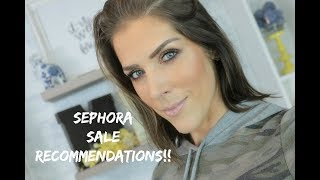 Sephora Friends and Family and VIB Sale Recommendations 2017 | Mandy Davis MUA