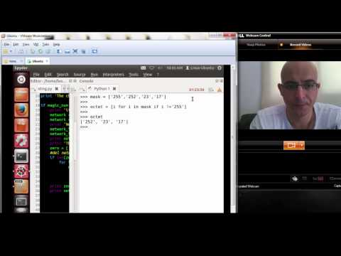 Python netmask / lists