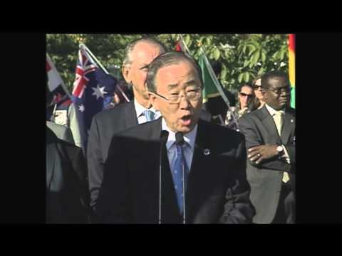 Peace Bell Ban Ki-Moon