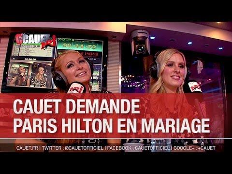 Cauet demande Paris Hilton en mariage - C'Cauet sur NRJ
