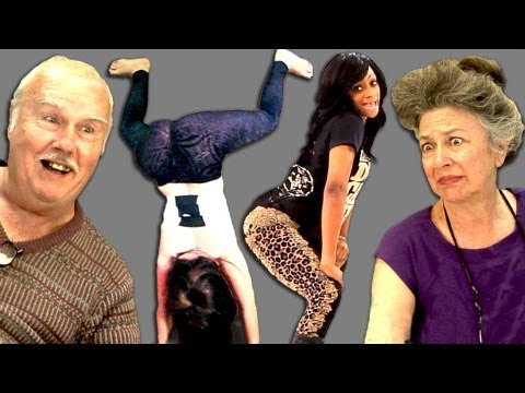 Elders React To Twerking video
