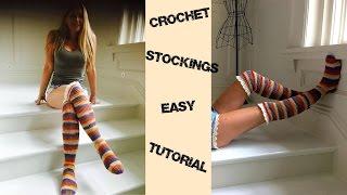 Boho Chic Crochet Stockings Tutorial