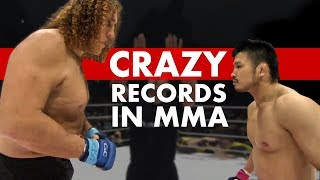 10 Crazy MMA Records You (Almost Certainly) Didn't Know