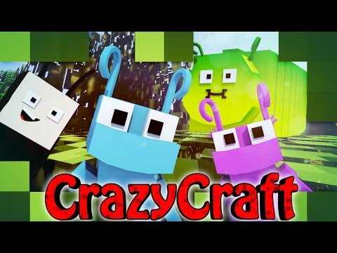 Minecraft | CrazyCraft 2.0 - OreSpawn Modded Survival Ep 142 -