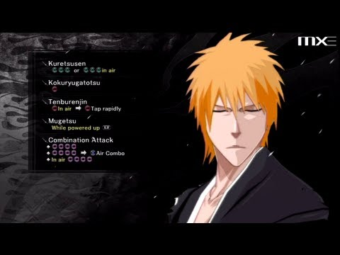 Bleach: Soul Resurreccion - Mugetsu Ichigo Gameplay HD