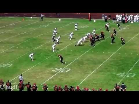 Michael Malkowski College of the Redwoods Football Wide Receiver #9 Freshman Year 2014.