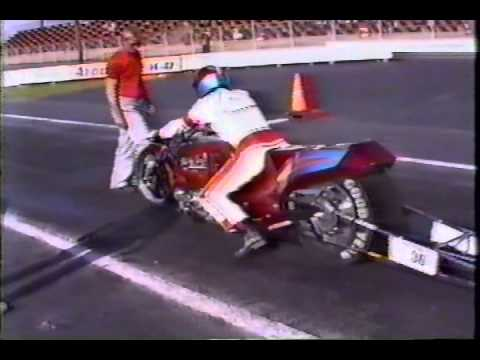 Atco Auto Racing on Danny Johnson Nitro Injected Suzuki Drag Bike 1992 Atco New Jersey