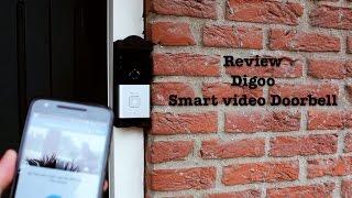 Review Smart video doorbell by Digoo