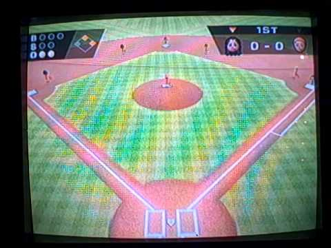 Wii Sports Versus Gameplay - Multiplayer Baseball Part 1 - 2nd Game 27 - Nintendo Wii