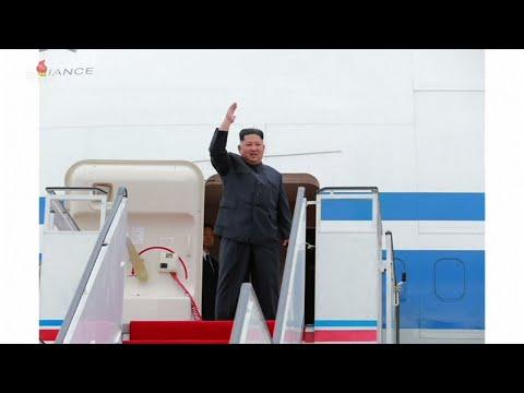North Korean State Media Reports on Kim Trip