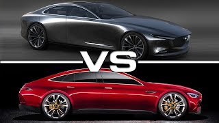 2018 Mazda Vision Coupe vs 2018 Mercedes AMG GT