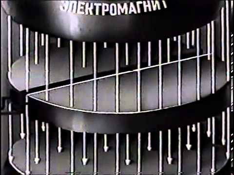 Действие магнитного поля на движущиеся заряды 1975 г НаучФильм СССР от http://www.neodim.org