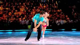 Anabelle Langlois and Brad May skate to