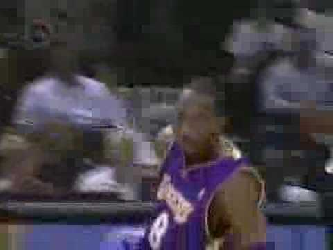 Kobe falls down while imitating Jordan Video