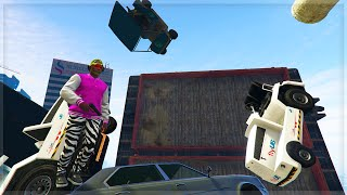 IT ALL FALLS DOWN !!! (GTA 5 Online Funny Moments)