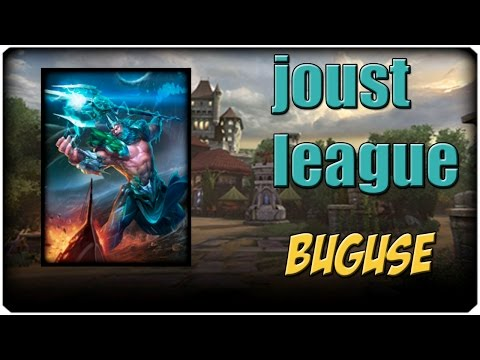 SMITE | Joust League con Poseidon - USO BUGUSE, BANEADME
